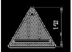Piloto triangular LED