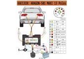 Kit electrico universal Aragon 13 polos maxi 501